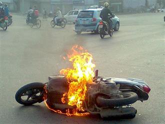 Mơ cháy xe máy có phải là điềm báo cho tương lai của bạn?