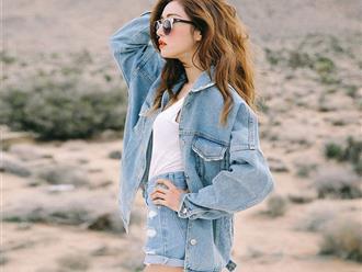 Là tín đồ thời trang, nhất định phải biết những cách phối đồ với áo khoác jean này