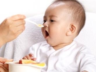 Gợi ý một vài món ăn dặm cho bé 8 tháng tuổi