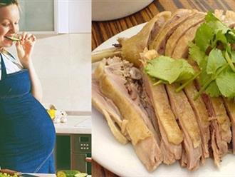 Phụ nữ sau sinh ăn thịt vịt được không?
