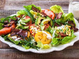 Làm salad bơ giảm cân đơn giản nhưng cực hiệu quả