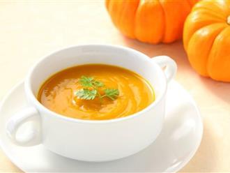 Hai cách nấu súp bí đỏ giúp giảm cân, làm đẹp da và chống ung thư