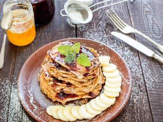Bữa sáng đầy năng lượng với các món ăn ngon tuyệt từ yến mạch