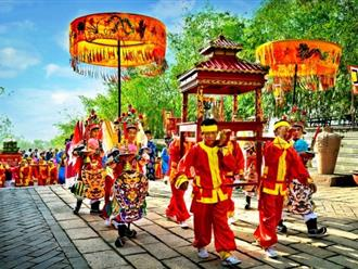 Các trò chơi truyền thống trong lễ hội Đền Hùng