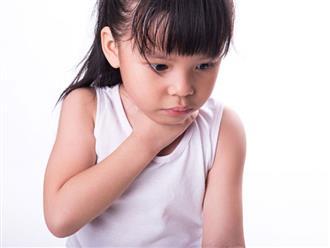 Trẻ em bị viêm họng, bố mẹ cần nhất phải làm gì?