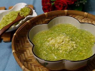 Vào Thu, mùa Cốm rộ, học ngay cách nấu chè Cốm hạt Sen ngon nức nở!