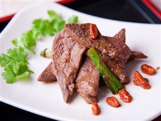 3 thưc phẩm khoái khẩu của người Việt nhưng rất dễ gây suy thận