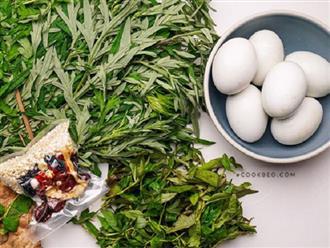 Phụ nữ ăn trứng luộc với lá ngải cứu trong vòng một tháng, cơ thể sẽ nhận được 4 lợi ích bất ngờ