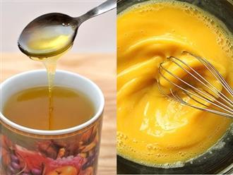 """1 thìa mật ong – 4 cách giúp người gầy trơ xương cũng phải tăng mỗi ngày 1 kg, 1 tuần 7kg """"dễ ợt"""""""