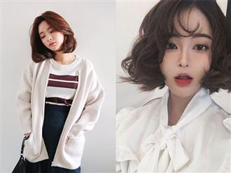 10 kiểu tóc ngắn Hàn Quốc xinh xắn cho nàng chơi Tết