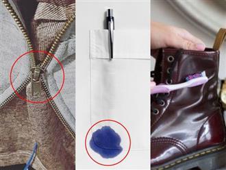 9 mẹo xử lý quần áo hư hỏng, làm mới giày dép cực hữu ích giúp phụ nữ tiết kiệm 'cả núi' tiền