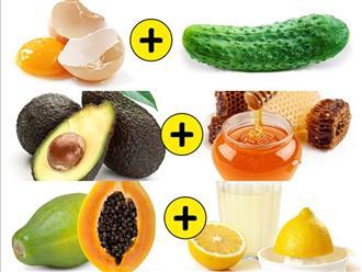 11 công thức mặt nạ chỉ gồm 2 nguyên liệu nhưng mang đến tác dụng dưỡng da toàn diện