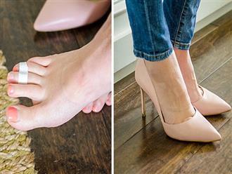 Thuộc lòng 10 thủ thuật đơn giản này, bạn sẽ quên đi cơn đau chân dù mang giày cao gót suốt cả ngày dài