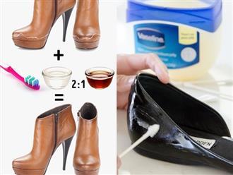 11 mẹo đơn giản không chỉ giúp giày cũ sạch bóng như mới mà còn vừa vặn hơn với đôi chân bạn