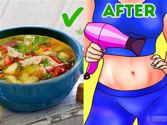 12 bí quyết đơn giản trong cách ăn uống, sinh hoạt giúp giảm cân 'thần tốc', không cần tập luyện hay kiêng khem
