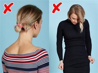 10 sai lầm về trang phục khiến phụ nữ trông lôi thôi, kém sang và mất điểm trước người đối diện