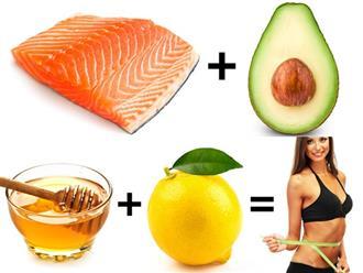 10 cặp thực phẩm chỉ cần ăn thường xuyên thì chất béo, mỡ thừa sẽ tự động bị đốt cháy giúp giảm cân 'siêu tốc'