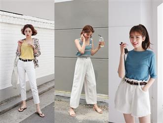 """15 set đồ dưới đây là minh chứng rằng những thiết kế quần trắng cũng chẳng kém """"đa zi năng"""" so với quần jeans"""