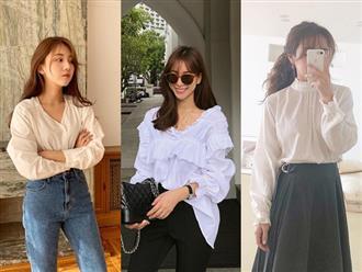 16 gợi ý diện áo blouse dài tay vừa đẹp vừa xinh, đảm bảo bạn sẽ muốn mặc mãi trong thời điểm giao mùa này