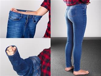 4 bí kíp cực dễ giúp bạn chọn quần jeans hoàn hảo, vừa vặn với vóc dáng mà không cần mặc thử