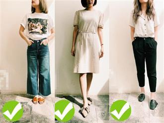 3 cách diện đồ giúp cải thiện chiều cao kể cả khi bạn lười đi giày cao gót