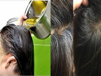 3 cách trị tóc bạc sớm bằng những nguyên liệu dân gian