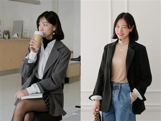 """3 công thức diện blazer """"cân"""" được hết mọi kiểu thời tiết trong mùa đông ẩm ương này, nàng công sở không thể ngó lơ"""
