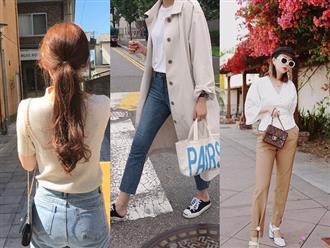 """4 công thức Hàn Quốc trendy nhất đợt này, mặc đi làm vừa xinh vừa hợp chụp ảnh """"sống ảo"""""""