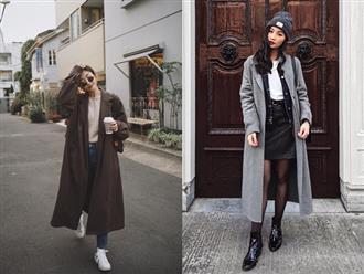 """4 công thức mix&match với áo khoác dạ - item """"sống mãi với thời gian"""" mà mùa đông nào các nàng cũng đem ra diện"""