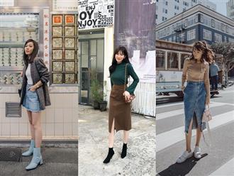 """4 công thức mix&match với chân váy đẹp xinh bất chấp mùa lạnh, các nàng """"bánh bèo"""" không thể bỏ qua"""