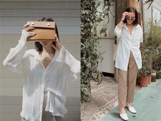 4 kiểu áo trắng chưa bao giờ lỗi mốt dành cho chị em công sở