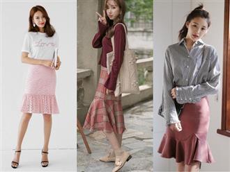 4 kiểu chân váy dài qua gối cực phù hợp để diện trong ngày Tết, vừa đẹp vừa không lo hớ hênh