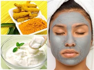 4 loại mặt nạ cho da mụn dễ làm với nghệ - mật ong, đá viên lá bạc hà