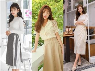 4 mẫu váy công sở tôn được vòng 3