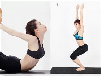 """5 bài tập yoga đơn giản giúp chị em """"đánh bay"""" mỡ bụng nhanh chóng tại nhà"""