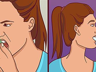 5 cách khử mùi hôi miệng chỉ sau vài phút