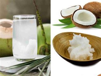 5 công dụng làm đẹp hữu ích của nước dừa mà bạn nên biết