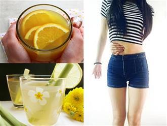 Uống nước detox từ trà xanh này mỗi ngày, đào thải độc tố, mỡ thừa giúp vóc dáng thon gọn, da dẻ căng mịn