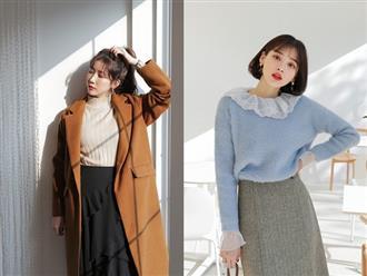 5 kiểu mặc layer với áo len để nàng công sở vừa ấm vừa xinh