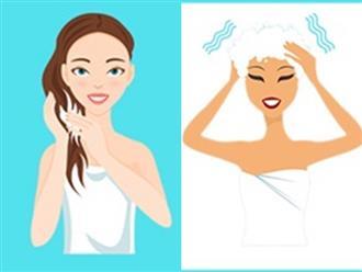 5 sai lầm khi gội đầu gây ra gàu và làm tóc gãy rụng