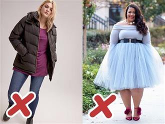 """6 lỗi ăn mặc mà hội chị em thừa cân cần tránh trong mùa đông kẻo bị """"dìm dáng"""" không thương tiếc"""