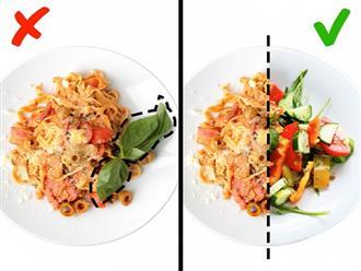 Thay đổi nhỏ trong thói quen ăn uống giúp giữ eo thon, dáng gọn