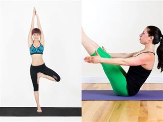 7 động tác yoga đơn giản tại nhà, eo thon, dáng chuẩn bất chấp mọi lứa tuổi