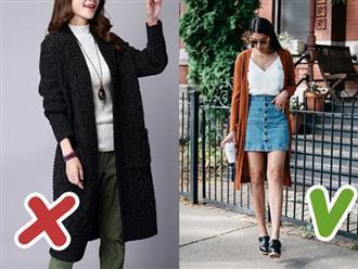 7 lỗi mặc cardigan tưởng đơn giản mà hầu hết các chị em đều hay mắc phải