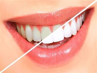 7 nguyên liệu nhà bếp giúp răng trắng, bóng không cần kem đánh răng