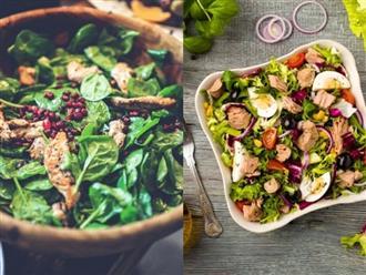 7 nguyên liệu phủ bề mặt salad nên chọn khi giảm cân (Phần 1)