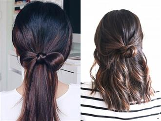 8 cách biến tấu để có kiểu tóc đẹp khi không có nhiều thời gian