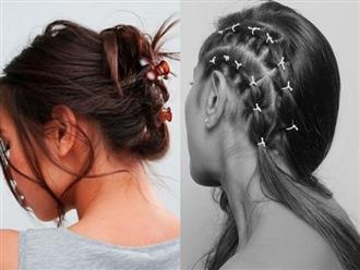 8 cách tạo kiểu che giấu tóc bết khi không kịp gội đầu