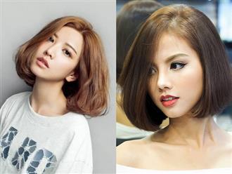 8 kiểu tóc ngắn cho cô nàng mặt tròn thêm xinh trong mùa hè