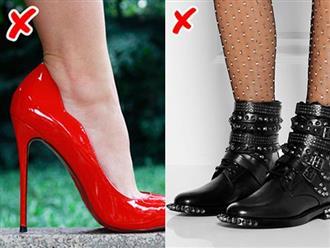 8 yếu tố khiến giày dép trông kém sang